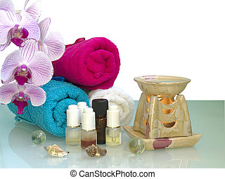 The set of aromatherapy