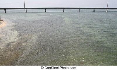 The Seven Mile Bridge Fl Keys - The Ocean and Seven Mile...
