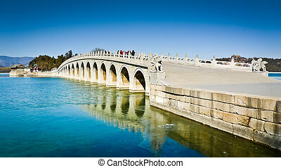 Seventeen Arch Bridge - The Seventeen Arch Bridge over ...