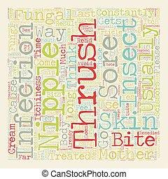 The Seventh Abundance text background wordcloud concept