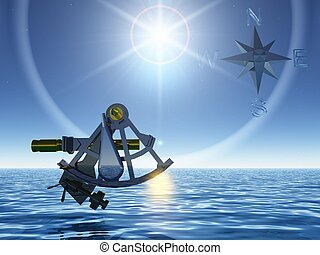 the sextant and the sea