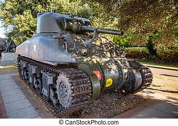 The Sherman tank showed in Porsmouth UK - The Sherman tank ...