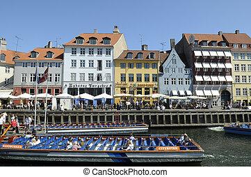The shore in Copenhagen