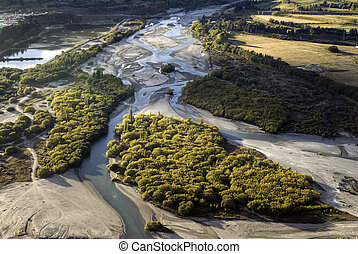 The Shotover river, Queenstown