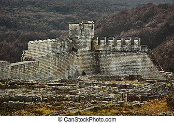 The Shumen Fortress - Remains of the Shumen Fortress,...
