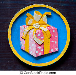 The Sign of gift box