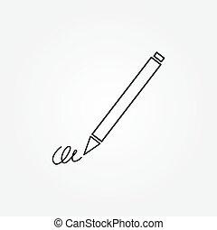 The signature, pen, undersign, underwrite, ratify simple...