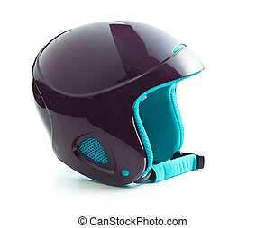The ski helmet.