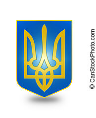 Coat of Arms of Ukraine (stylized) II.