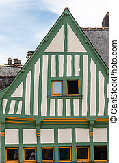 the small town of Auray, in Brittany