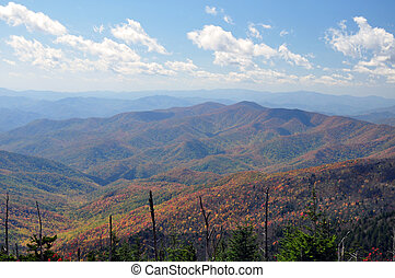 Smokey Mountains - The Smokey Mountains in the fall.