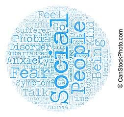 The Social Killer text background wordcloud concept
