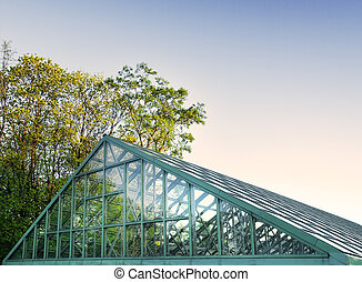 the solid glasshouse