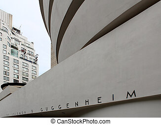 The Solomon R. Guggenheim Museum, New York City. - The...