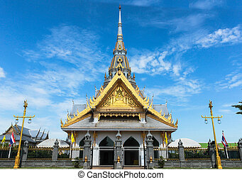 The Sothon temple is the Buddhist faith in Thailand.