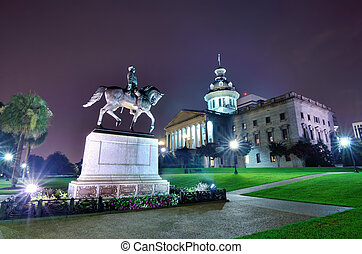 South Carolina State House - The South Carolina State House...