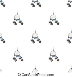 The spacecraft, Lunokhod. Space technology single icon in cartoon style vector symbol stock illustration web.