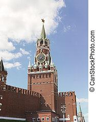Spasskaya Tower - The Spasskaya Tower is the main tower with...