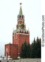 Spasskaya Tower - The Spasskaya Tower, Kremlin, Moscow