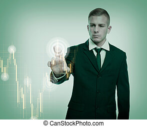 The specialist. - The specialist, colorful currency trading...