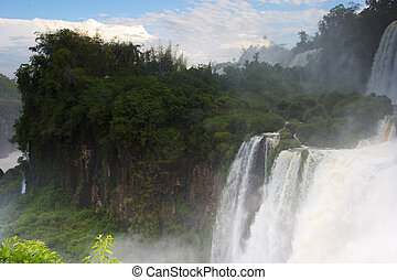 The Spectacular Iguazu Falls