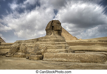 The Sphinx - guardian of the pharaos - The Sphinx guarding...