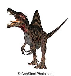 Spinosaurus - The Spinosaurus dinosaur was a huge carnivore...