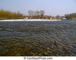 The Spring river