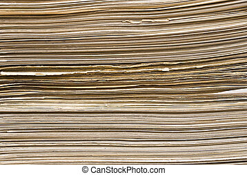 The stack of cardboard background