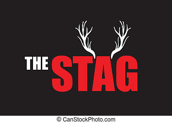 the stag - stag background