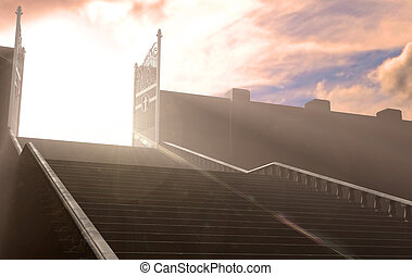 The Stairs To Heavens Gates