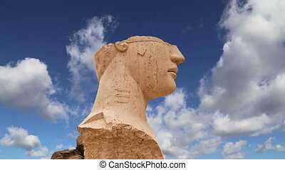 archeological area of Agrigento - The statue in the...