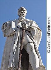The statue of Francesco Burlamacch