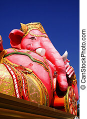 The statue of Lord Ganesh