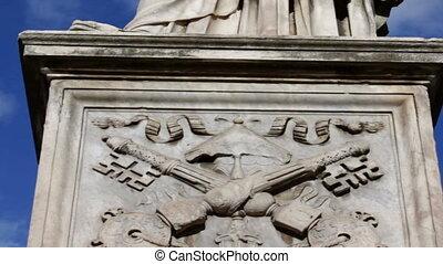 The Statue of Saint Paul