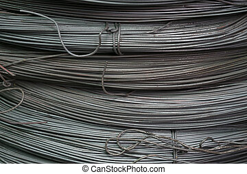 The steel bars