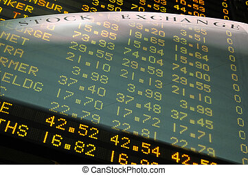 The Stock Exchange - Creative Stock Exchange fusion - share...