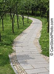 walkway winding