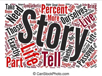 The Stories We Tell Ourselves Word Cloud Concept Text...