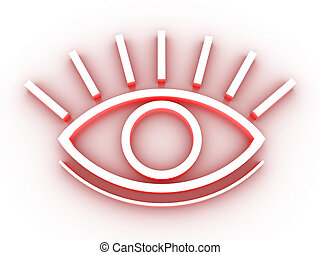 The stylized eye