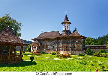 The Sucevita Monastery is a Romanian Orthodox monastery...