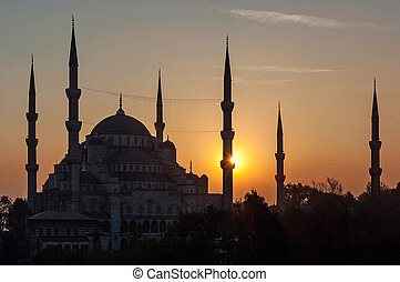 The Sultan Ahmed Mosque, popularly known as the Blue Mosque,...