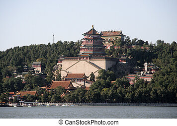 The Summer Palace from the seaside