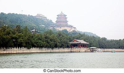 The Summer Palace near Beijing City China
