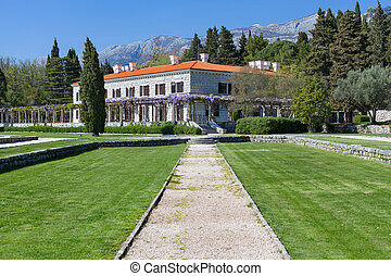 The summer residence of the Yugoslav King