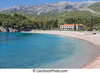 The summer residence of the Yugoslav King