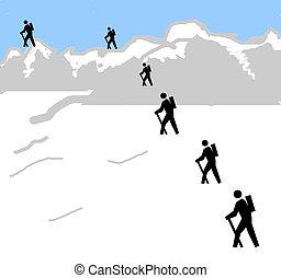The Summit - Art Illustration created in photoshop