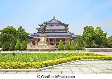 The Sun Yat-Sen Memorial Hall in Guangzhou, China.