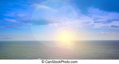 Sunrise Over Pacific Ocean in Kamchatka Peninsula - The ...