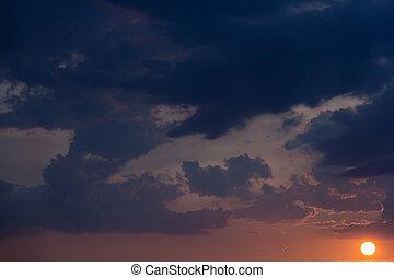 The sunset sky-8